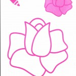 Раскраска цветов с названиями