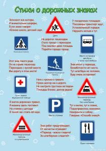Стенд «Изучаем дорожные знаки»