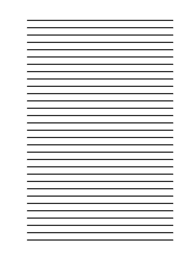 Трафарет «Зебра» для листов А4 (широкие линии без полей)