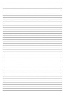 Шаблон «Зебра» для листов A4 (тонкие линии, маленький интервал)