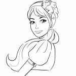 Раскраска для девочек «Барби»