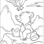 Раскраска мультфильма «Братец медвежонок» — 55 картинок