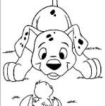 Щенок далматинец и щенок