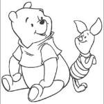 Зарубежный мультфильм «Винни Пух» — часть первая. Детские картинки для раскрашивания.