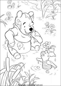 Мультфильм Винни-Пух часть вторая — раскраски