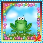 Веселая жабка