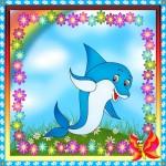 Веселый дельфин