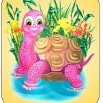 Картинка черепаха на шкафчик