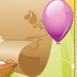 Фрагмент 4 фона с партой и шаркиками для ДОУ
