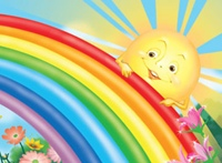 Детские потешки про радугу