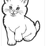 Раскраски котята бесплатно