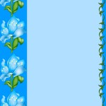 Синий фон по экологии