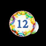 Номер 12 на кроватку в ДОУ