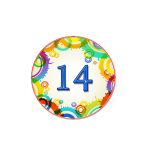 Номер 14 на кроватку в ДОУ