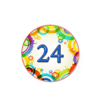 Номер 24 на кроватку в ДОУ