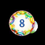 Номер 8 на кроватку в ДОУ