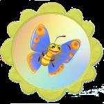 Бабочка для группы солнышко