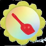 Лопатка для группы солнышко