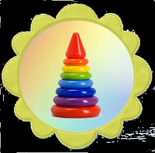 Пирамидка для группы солнышко