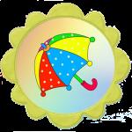 Зонтик для группы солнышко