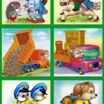 Сборник больших картинок на шкафчики 3