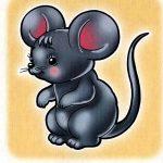 Мышка на шкафчик
