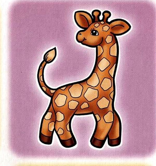 Жираф на шкафчик