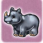Носорог на шкафчик