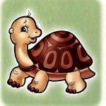 Черепаха на шкафчик