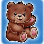 Медвежонок на шкафчик