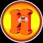 Круглая буква И