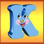 Квадратная буква К