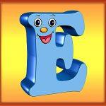Квадратная буква Е
