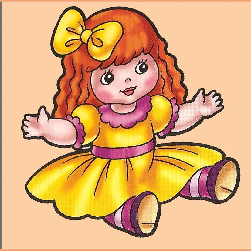 Кукла на шкафчик