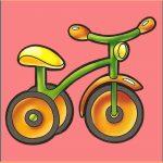 Велосипед на шкафчик