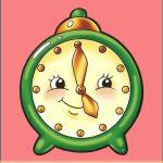 Игрушка Часы на шкафчик