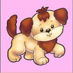 Игрушка собачка на шкафчик