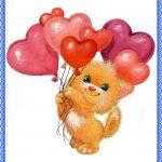 Котенок с шариками