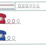 Занятие по подготовке к письму с телефоном