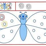 Занятие по подготовке к письму с бабочкой