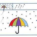 Занятие по подготовке к письму с зонтиком