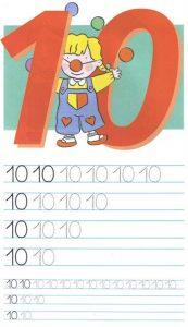 Как писать цифры