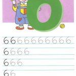 Как писать цифру 6