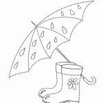 Обводилка зонтик и сапожки
