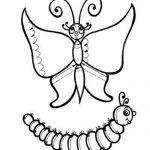 Штриховка бабочка