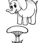 Штриховка слоник