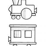 Штриховка паровозик
