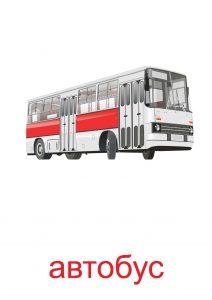 Картинка автобус для детей