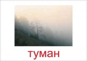 Туман - картинка для детей