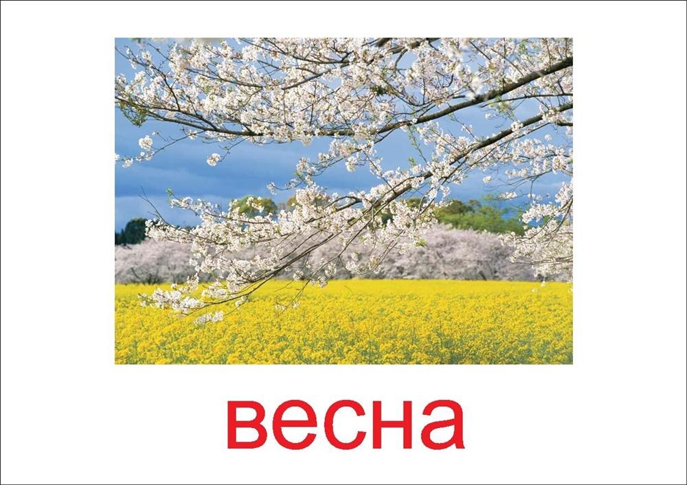 Весна - картинка для детей